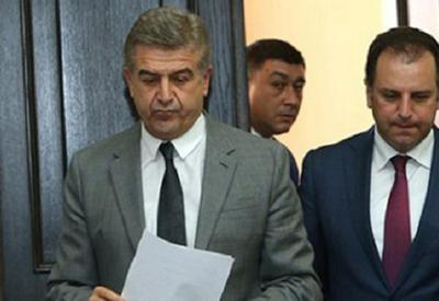 Саргсян сдал премьера Армении дашнакам