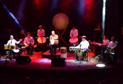 "Ритм-группа ""Натиг"" на сцене Международного центра мугама <span class=""color_red"">- ФОТО</span>"