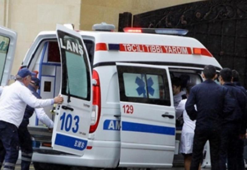 Несчастный случай на стройке в Гяндже, пострадал рабочий