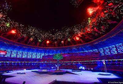 Concept Central: Азербайджан великолепно провел Исламские игры, закончившиеся блестящей церемонией закрытия