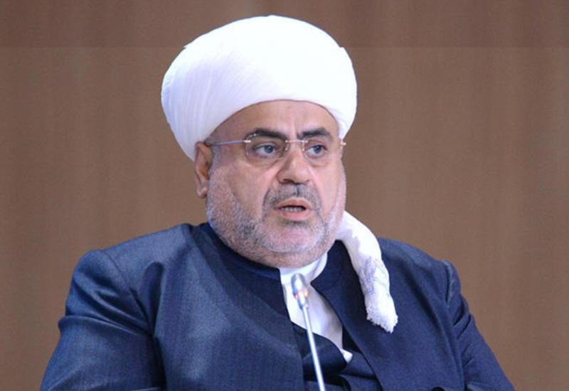 Аллахшукюр Пашазаде поздравил азербайджанский народ с праздником Рамазан