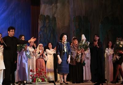 "Юбилею Фирангиз Ализаде был посвящен показ оперы ""Интизар"" <span class=""color_red"">- ФОТО</span>"