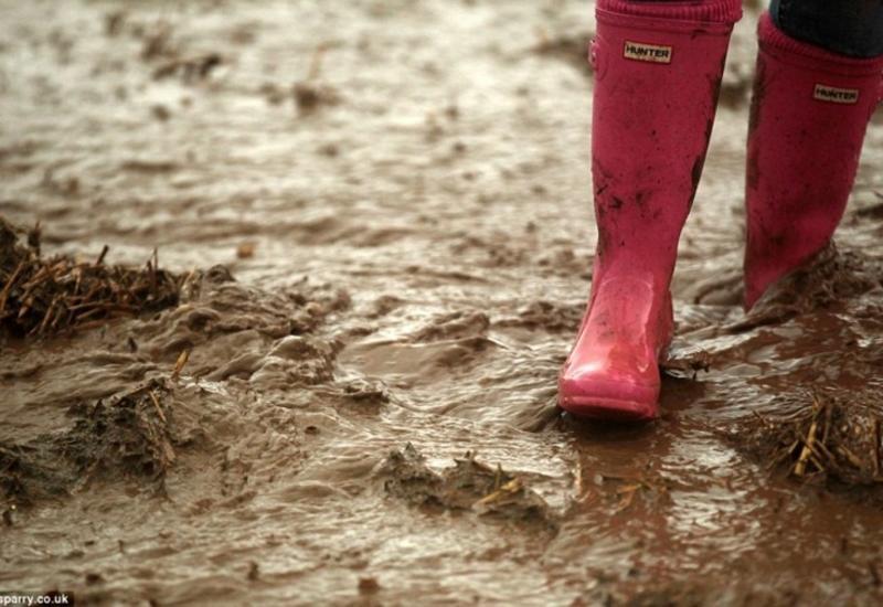 В Тертере прошли грязевые дожди