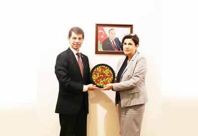 Посол Украины посетил Переводческий центр Азербайджана