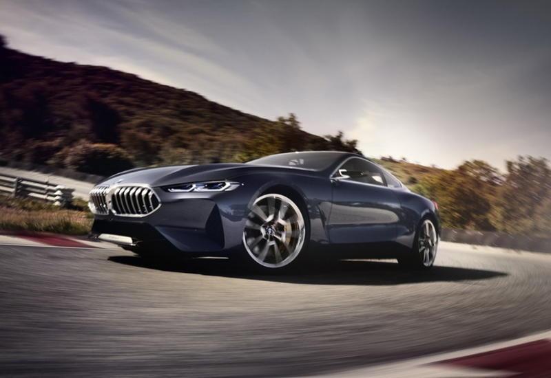 BMW представила предвестника купе 8-й серии
