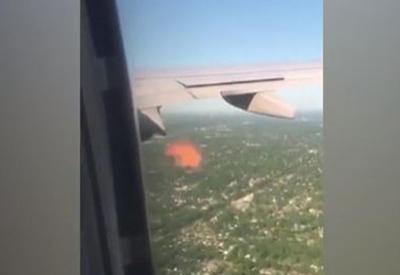 """Самолет Чикаго — Майами загорелся в воздухе <span class=""""color_red"""">- ВИДЕО</span>"""