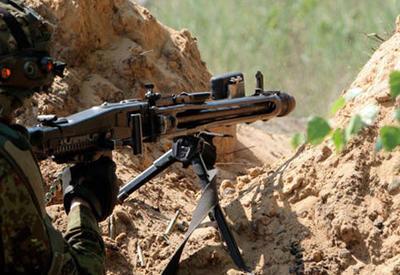 Армяне вновь устроили массированный обстрел на линии фронта
