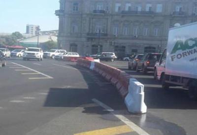 Военный атташе Казахстана попал в ДТП в Баку