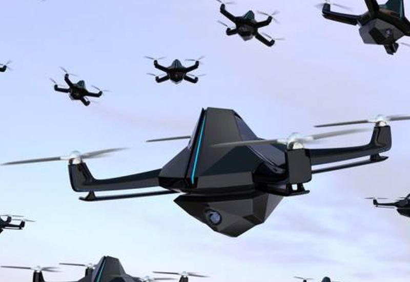 Опубликовано видео управления роем китайских боевых дронов