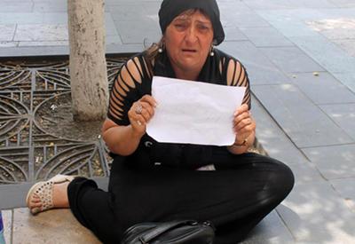 Мать искалеченного в армянской армии солдата начала голодовку