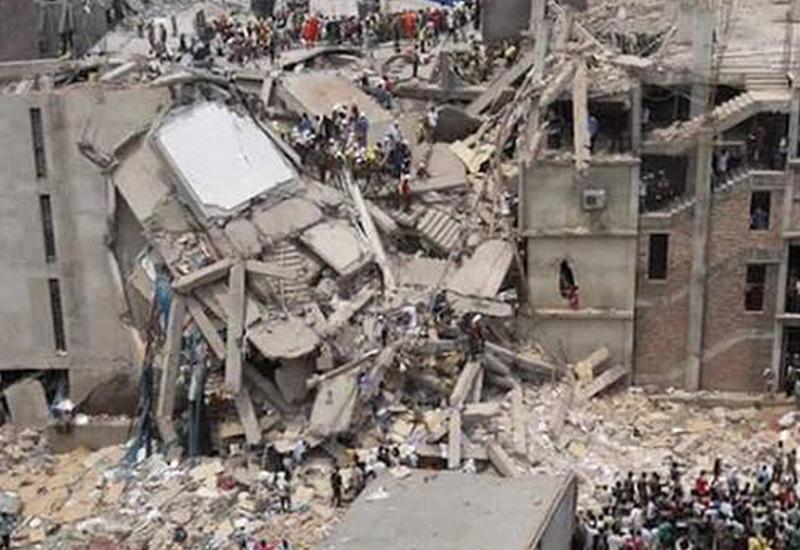 В столице Кении рухнул 7-этажный жилой дом