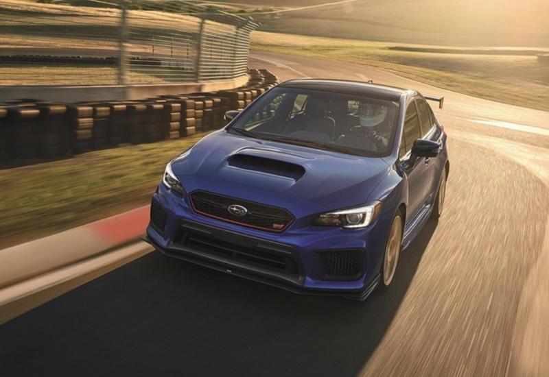 """Subaru рассекретила """"заряженные"""" версии STI и BRZ"""