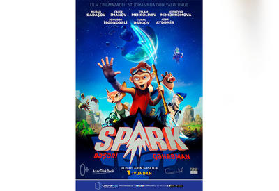 "В кинотеатре ""CinemaPlus Ganjlik Mall"" прошла презентация ""Спарка"" <span class=""color_red"">- ФОТО - ВИДЕО</span>"