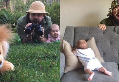 """Нереально крутой папа, который делает прекрасные фотографии со своей маленькой дочкой <span class=""""color_red"""">- ФОТО</span>"""