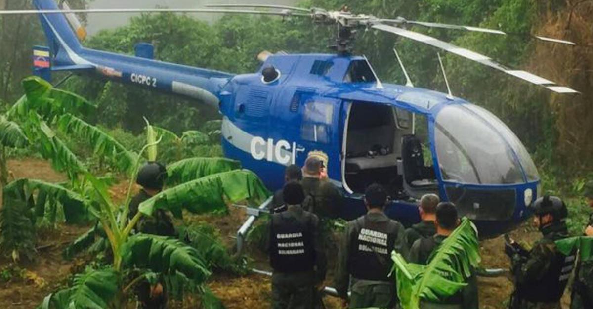 Мадуро призвал граждан Венесуэлы отыскать атаковавшего здания суда иМВД пилота