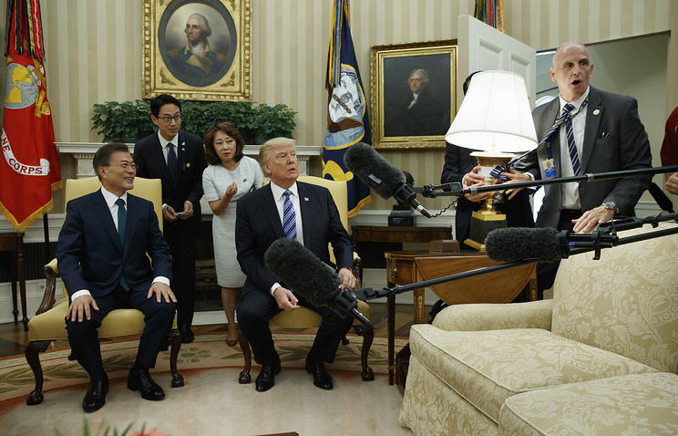 Трамп объявил, что уСША кончилось терпение вотношении КНДР