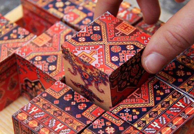 Армяне украли азербайджанский ковер, но не могут в нем разобраться