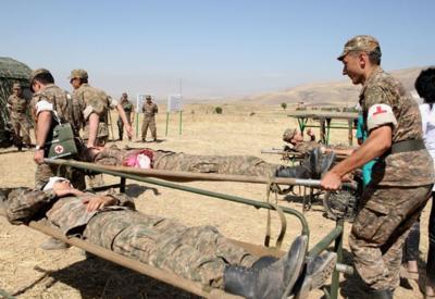 Армянские солдаты подорвались на собственной мине в оккупированном Карабахе - ПОДРОБНОСТИ