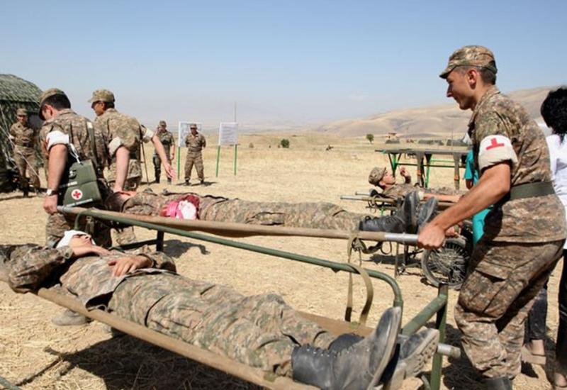 Армянские солдаты подорвались на собственной мине в оккупированном Карабахе