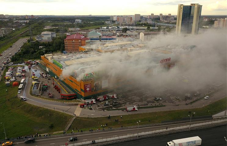 Число пострадавших впожаре вТЦ «РИО» выросло до 12-ти