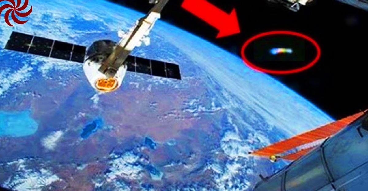 Уфолог увидел навидео сМКС феноменальную вспышку НЛО