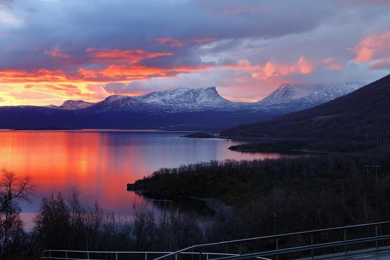Национальный парк Абиску в Швеции