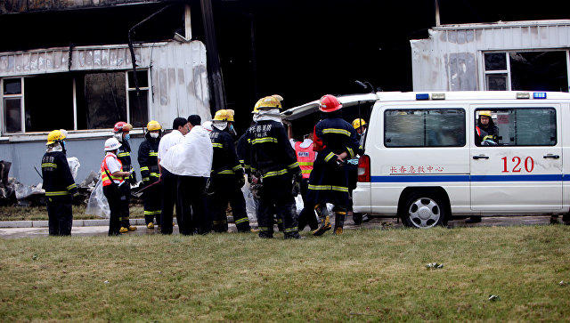 ВКитайской народной республике жертвами пожара вжилом доме стали 22 человека