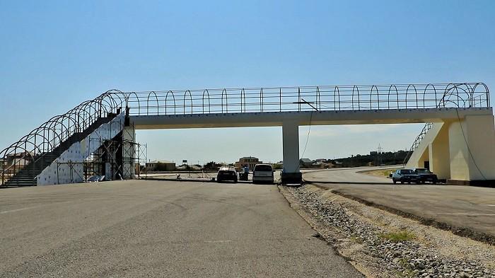 На трассе Зых-Говсан строятся новые наземные пешеходные переходы - ФОТО