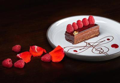 Шоколадно-малиновый торт - Пошаговый рецепт