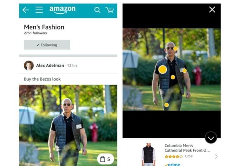 Amazon запустила соцсеть для шопинга