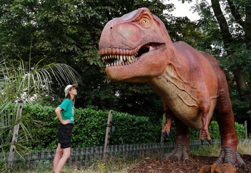 """В лондонском зоопарке появятся динозавры <span class=""""color_red"""">- ВИДЕО</span>"""