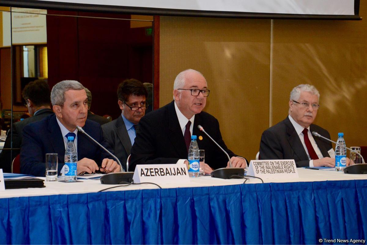 ВАзербайджанской столице считают нужным усовершенствование устройств реализации резолюций ООН