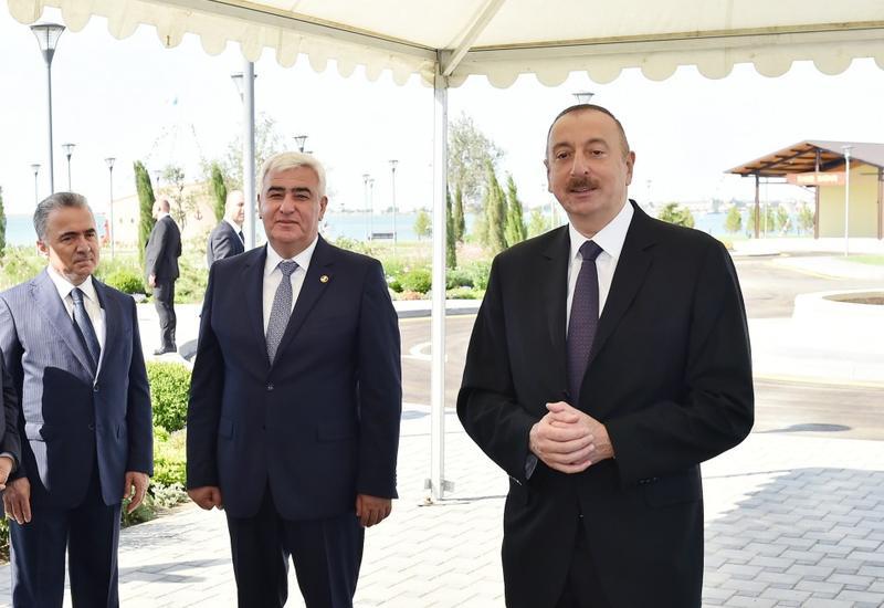 Президент Ильхам Алиев: Развитие туризма в Пираллахинском районе отныне будет идти интенсивными темпами
