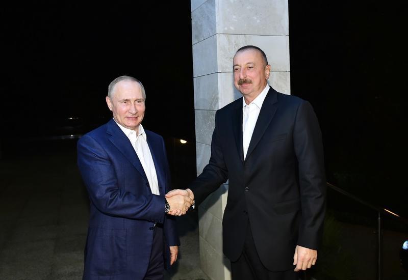 Встреча Президентов Азербайджана и России в Сочи: новый импульс развития стратегических отношений