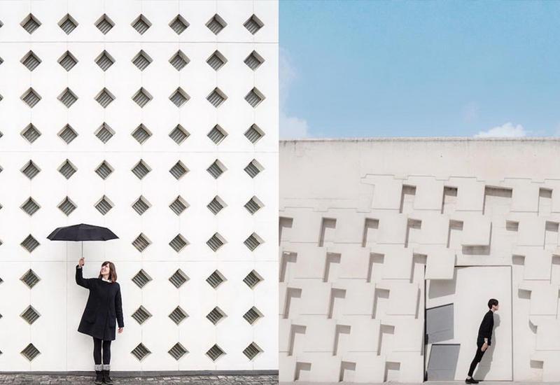 """Игра с городскими пространствами: пара из Валенсии дополняет собой архитектурные образы <span class=""""color_red"""">- ФОТО</span>"""