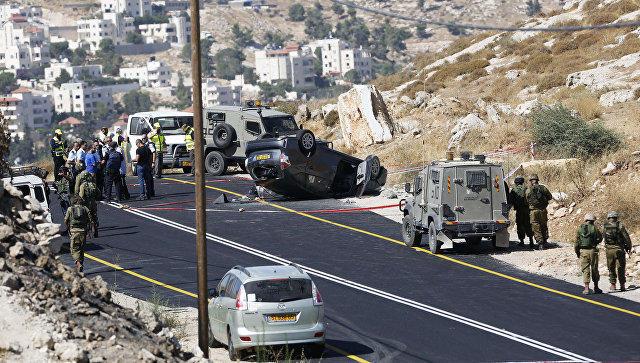 Палестинец зарезал трёх израильтян наЗападном берегу Иордана