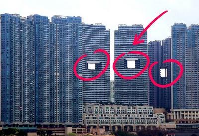 """Загадка «дырявых» небоскребов раскрыта! Вот для чего в Гонконге строят такие странные высотки <span class=""""color_red"""">- ФОТО</span>"""