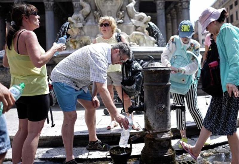 В Риме заканчивается питьевая вода