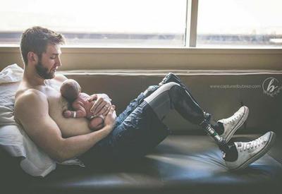 Ода отцовской любви: все самые заботливые папочки Инстаграма собраны в одном аккаунте