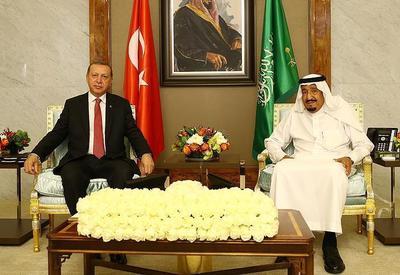 Эрдоган встретился с королем Саудовской Аравии