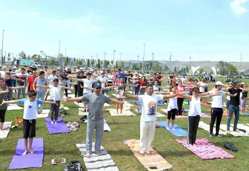 """В рамках программы «YARAT Freestyle» стартовал фестиваль йоги <span class=""""color_red"""">- ФОТО</span>"""