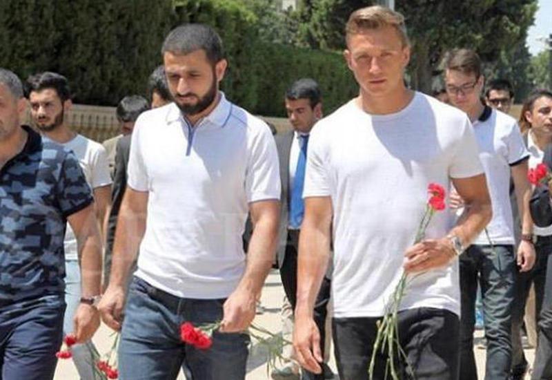 """Qarabağ""ın yeni transferi Ağdamın işğalından yazdı <span class=""color_red"">- FOTO</span>"