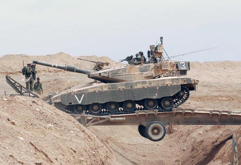 Израильский танк атаковал пост в Палестине