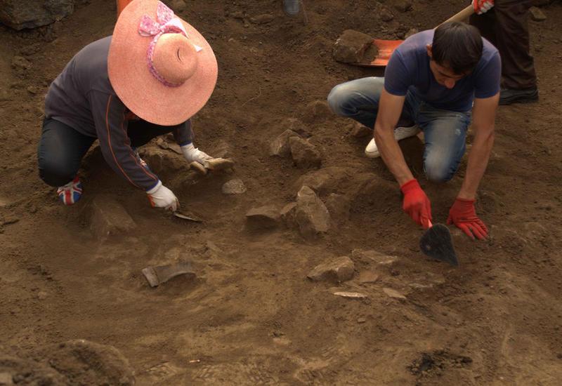 Yardımlıda qədim yaşayış yerləri aşkarlandı