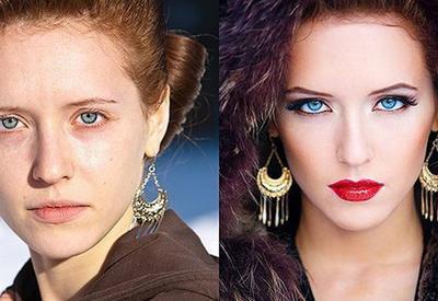 20 фотографий, которые докажут, что хороший макияж творит чудеса
