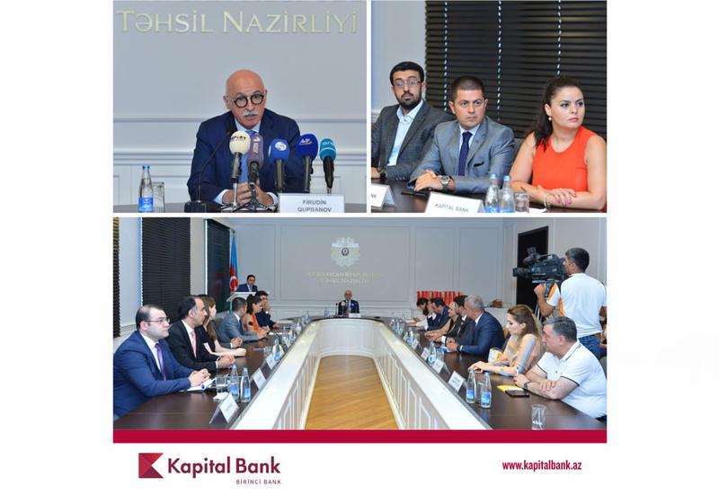 """При поддержке Kapital Bank продолжается проект """"Təhsil avtobusu"""""""