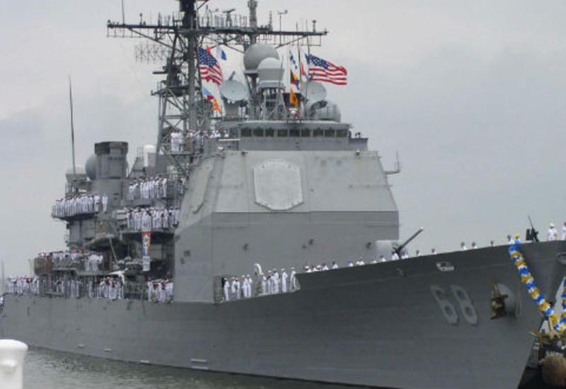 Корабль ВМС США открыл предупредительный огонь в направлении иранского судна