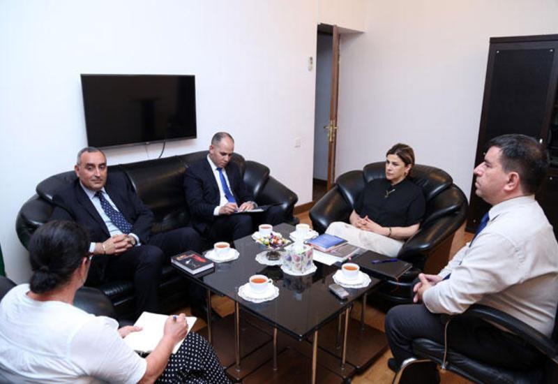 Посол Марокко посетил Переводческий центр Азербайджана