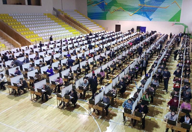 В Баку начинается экзамен по приему учителей на работу