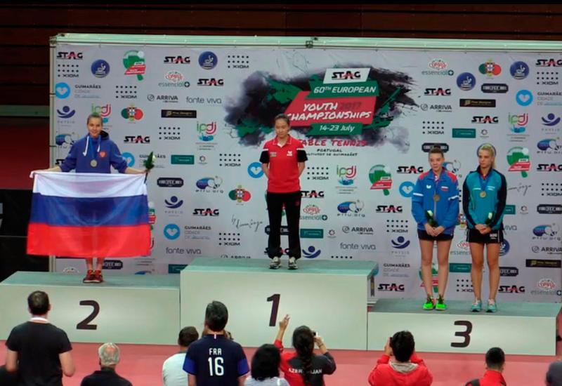 """Азербайджанская теннисистка стала чемпионкой Европы <span class=""""color_red"""">- ФОТО</span>"""